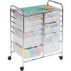 HoneyCanDo 12 Drawer Utility Cart