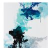 Madison Park Signature 'Water and Ink I' by Evangeline Taylor Painting Print on Canvas
