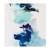 Madison Park Signature 'Water and Ink II' by Evangeline Taylor Painting Print on Canvas
