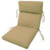 Comfort Clas Channeled Outdoor Sunbrella Lounge Cushion