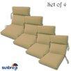 Comfort Clas Outdoor Sunbrella Chair Cushion (Set of 4)