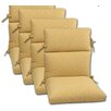 Comfort Clas Geobella Outdoor Chair Cushion (Set of 4)