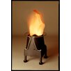 Luxa Flamelighting Fire 12cm Table Lamp