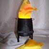 Luxa Flamelighting 5 cm Lampenschirm aus Seide
