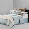 N Natori Fretwork 4 Piece Comforter Set