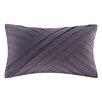 N Natori Abstract Stripe Cotton Throw Pillow