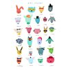 Hanna Melin ABC Animal Friends Art Print