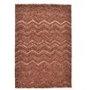 Theko Wool Design 3D Hand-Tufted Terra Area Rug