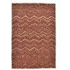 Theko Handgetufteter Teppich Wool Design 3D in Terra