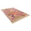 Theko Handgewebter Teppich Kelim-Royal