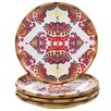 "Tracy Porter Imperial Bengal 10.5"" Dinner Plate (Set of 4)"
