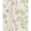 "Washington Wallcoverings Barbara Becker Home Passion Vine 33' x 20.5"" Botanical 3D Embossed Wallpaper"