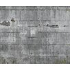 """Washington Wallcoverings Factory II 20.5"""" x 396"""" Vinly Roll in Faux Concrete Mural"""