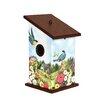 Summer Afternoon Rest Stop 12.5 inch x 7 inch x 7 inch Birdhouse - Studio M Birdhouses