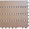 "Vifah Composite Cedar 12"" x 12"" Interlocking Deck Tiles"