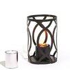 """TF Essentials Savannah 12"""" H x 8"""" W x 8"""" D Outdoor Steel Lantern Set"""