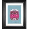 Classy Art Wholesalers London Transport 3 by Ben James Framed Graphic Art