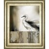 Classy Art Wholesalers Sea Mist and The Egret by J.P Prior Framed Painting Print