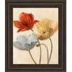 Classy Art Wholesalers Poppy Palette II by Nan Framed Painting Print
