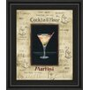 Classy Art Wholesalers Martini by Gregory Gorham Framed Vintage Advertisement