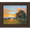 Classy Art Wholesalers Sunset Salute by V. Mcmurray Framed Painting Print