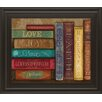 Classy Art Wholesalers Life Lessons II by Mollie B Framed Graphic Art