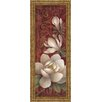 Classy Art Wholesalers Magnolia Melody I by Elaine Valherbst-Lane Framed Painting Print