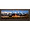 Classy Art Wholesalers Alma Moulton Barn by Shelley Lake Framed Photographic Print