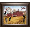 Classy Art Wholesalers Autumn Gold by Billy Jacobs Framed Graphic Art