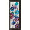 Classy Art Wholesalers Bold Aneomes Panel II by Silvia Vassilev Framed Painting Print