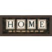 Classy Art Wholesalers Home by Anne Lapoint Framed Textual Art