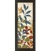 Classy Art Wholesalers Leaves of Color I Framed Graphic Art