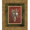 Classy Art Wholesalers Marlow's Bouquet I by Vivian Flasch Framed Painting Print
