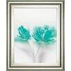 Classy Art Wholesalers Aqua Sorbet 2 by Jane Prior Framed Painting Print