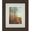 Classy Art Wholesalers Trees with Flying Bird by Amy Melious and Mossy Oak Nativ Living Framed Painting Print
