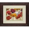 Classy Art Wholesalers Happy Flowers by Katrina Craven Framed Painting Print
