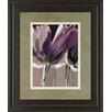 Classy Art Wholesalers Aubergine Splendor II by Angela Marita Framed Painting Print