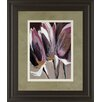 Classy Art Wholesalers Aubergine Splendor I by Angela Marita Framed Painting Print
