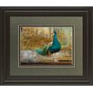 Classy Art Wholesalers Feathered Dreams II by Patricia Pinto Framed Graphic Art