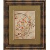 Classy Art Wholesalers Autumn's Delight II by Nan Framed Graphic Art