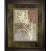 Classy Art Wholesalers Lily Silhouette Framed Graphic Art