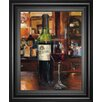Classy Art Wholesalers 'A Reflection of Wine III' by Marilyn Hagmeman Framed Painting Print