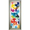 Classy Art Wholesalers 'Bright Circles III' by Wild Apple Portfolio Framed Graphic Art