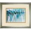 Classy Art Wholesalers 'Aurora Lights II' by Karen Lorena Parker Framed Painting Print