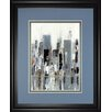 Classy Art Wholesalers 'City Bridge' by Aziz Kadmiri Framed Painting Print