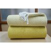 Affinity Linens Elegancia 2 Piece Cotton Chevron Throw Blanket Set