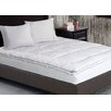 Kathy Ireland Home by Blue Ridge Heirloom 1000 Thread Count Cotton Rich Swiss Dot Mattress Pad