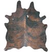 Deco Hides Natural Cowhide Brown Area Rug