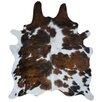 Deco Hides Natural Cowhide Tricolor Area Rug