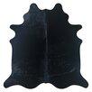 Deco Hides Natural Cowhide Black Area Rug